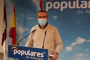 El diputado regional del PP, Vicente Aroca.
