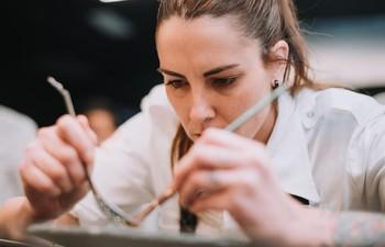 La cocinera Lucía Grávalos crea su propuesta gastronómica