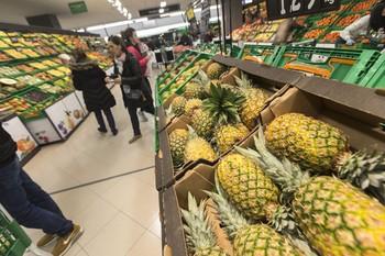En comparación con mayo, los precios en Castilla-La Mancha subieron en alimentos y bebidas no alcohólicas el 0,3 %.