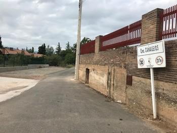 El accidente ha tenido lugar en uno de los caminos del término municipal de Lardero.