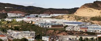 Polígono industrial El Raposal de Arnedo.
