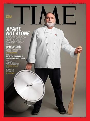 El chef José Andrés acapara la portada de 'Time'
