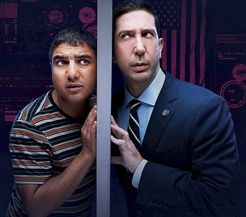David Schwimmer regresa a la comedia con la serie 'Intelligence'