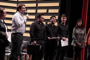 Ganadores del concurso de una edición anterior.