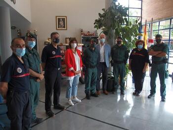 El alcalde recibe a los responsables de la UAR en La Rioja