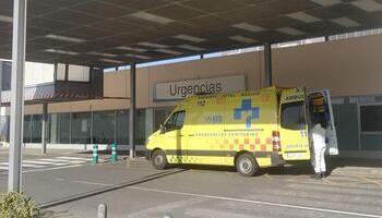 Un herido en un accidente de tráfico en Avenida de Madrid