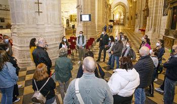 La catedral recibe 2.100 visitantes en el Pilar