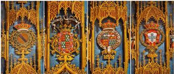 Duques de Abrantes y heráldica en capilla de Santa Ana (III)