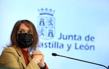 Rocío Lucas, consejera de Educación.