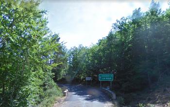 La carretera de Montenegro a La Rioja, cortada por obras