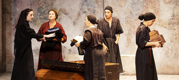'La casa de Bernarda Alba' recala en el Teatro Ortega