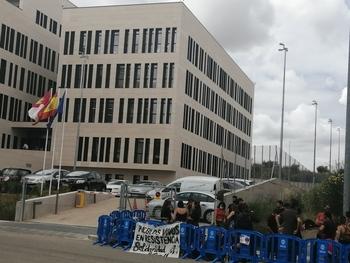 Fraguas Revive se concentra en apoyo de nuevos investigados