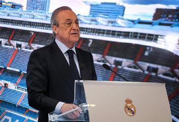 Florentino Pérez es el primer presidente de la SuperLiga