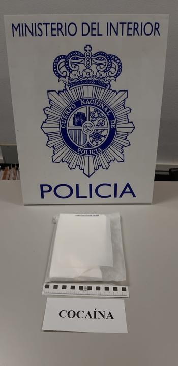 Dos detenidos en San José con cocaína tras una persecución