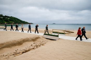 El G7 quiere competir con la 'nueva ruta de la seda' china