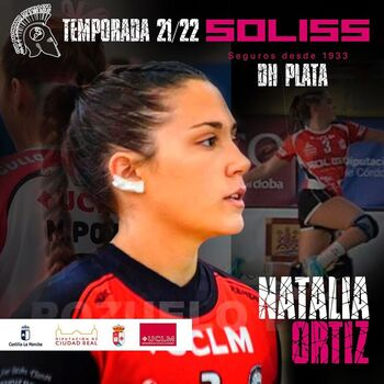 Natalia Ortiz también sigue en el Pozuelo