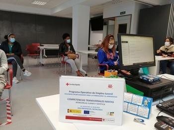 173 jóvenes en el Programa de Empleo Juvenil de Cruz Roja
