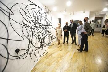 'Una historia de arte reciente' se inauguró en el Museo de Arte abstracto