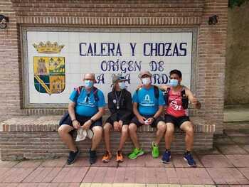 El joven Álvaro acaba en Calera la primera etapa del Camino
