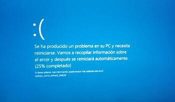 La 'pantalla azul de la muerte' será negra en Windows 11