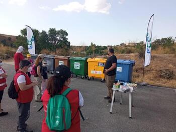 Voluntariado ambiental para limpiar Fuentes Claras