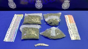 Detenido por llevar droga y saltarse un orden de alejamiento