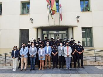 Logroño cuenta con 31 nuevos agentes de la Policía Local