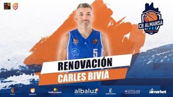 Carles Bivià seguirá vinculado al CB Almansa