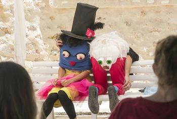 Fotografía de archivo de uno de los espectáculos que el público conquense pudo disfrutar dentro de este festival.