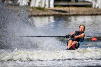 Empieza el Campeonato de Europa de esquí acuático en Seseña