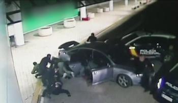 4 detenidos en Burgos de una banda experta en alunizajes