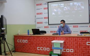 Alberto Jiménez seguirá al frente de Enseñanza en CCOO