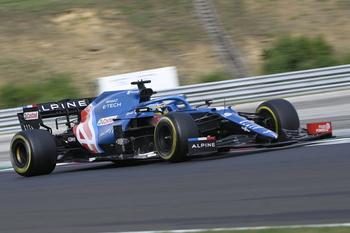 Alonso prolonga su contrato con Alpine para 2022