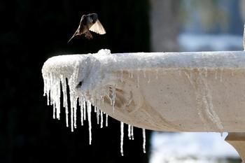 La ola de frío que terminaba hoy se prolonga hasta el miércoles