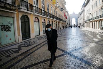 Portugal endurece su confinamiento ante el aumento de muertes