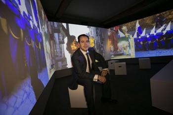 El presidente de la Junta de Cofradías, Jorge Sánchez Albendea