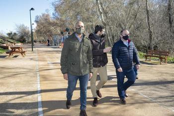 El PP pide prolongar el parque fluvial hasta Manantiales
