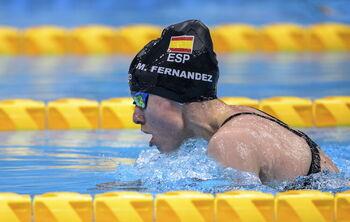 Marta Fernández conquista la piscina de los 50 braza SB3