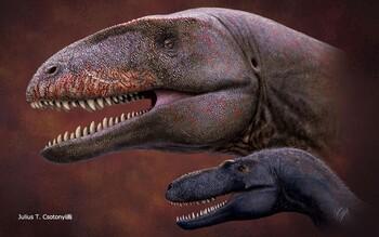 Un nuevo rival para el T-Rex en el trono de los depredadores