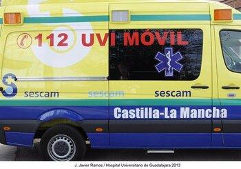 Al hospital los ocupantes de un camión que volcó en la A-4