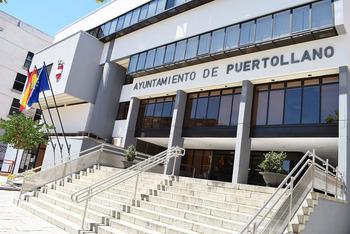 Fachada del Ayuntamiento de Puertollano