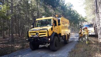 La región ayuda en los incendios a Madrid y Castilla y León