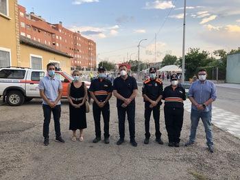 Los voluntarios de Protección Civil velaron por las fiestas