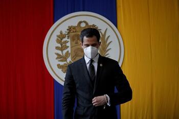 La Fiscalía investiga a Guaidó por