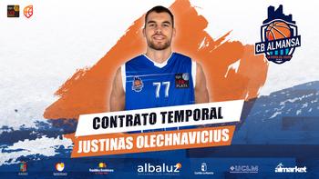 Olechnavicius regresa al CB Almansa