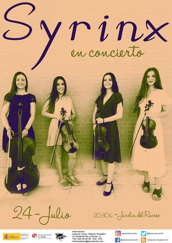 Cine, literatura y conciertos distribuidos por toda Ávila