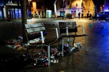 Un macrobotellón en Barcelona acaba con 43 heridos