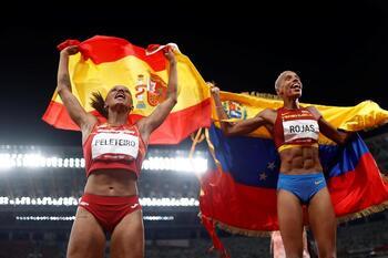 Las medallistas Peleteiro y Rojas, alcarreñas adoptivas