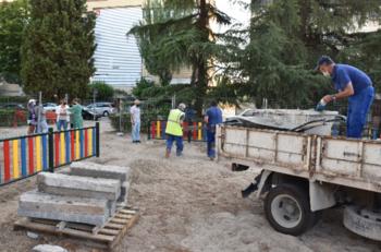 Empieza la renovación del parque de El Potrero en Talavera