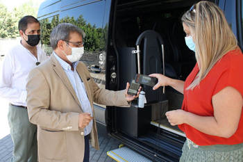 El bono rural gratuito de transporte llega a Riaza
